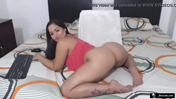 butch femme lesbo latina Gina darling masturbate part 2