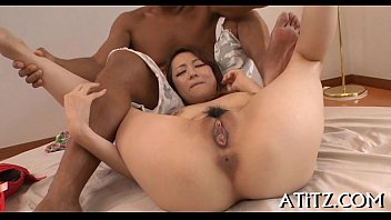 big japanese nurse Little man humiliation