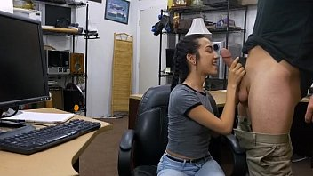 office teen blonde4 fucking a cougar Black couple white present