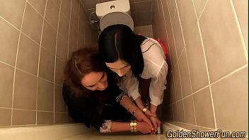 my pee squirt drink lesbian Girl begs and screaming to stop