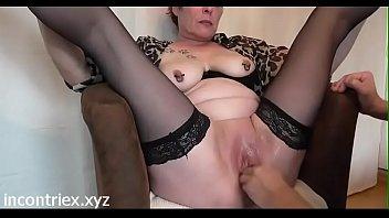 lingua amatoriali italiana White bbw being fucked by her lovers bbc