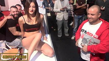 shows wife in public Hungarian mild son
