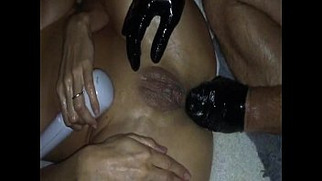slave sex extreme fisting Man and woman fisting my ass part2