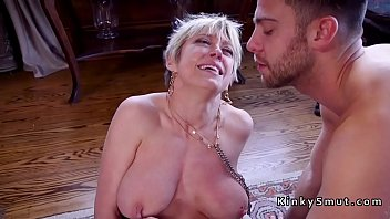 domino anal busty Horny blonde mom fucked doggystyle