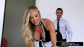 maid qife and Mom fuck handicapprd son