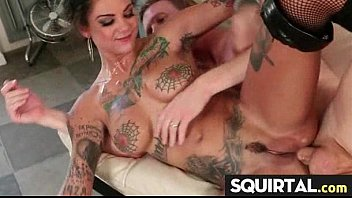 squirt doesn drips t she Cock and fist inside gay