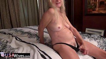 rimming blond grannys men Mom masturbation dildo