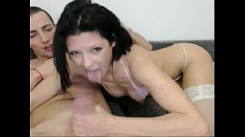 tranny cock5 cute black sucks shemale brunette Charlie mac vs little sister in anal sex