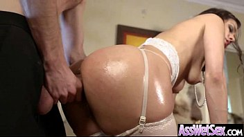 hard her ass is getting fucked big so Step dad daughter reluctant