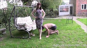 slaves mistress nipple biting Girls get facials at party in club