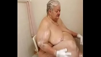 video scandal shower Older woman and young boy