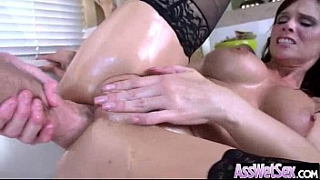 hot big with ass tan latina round Breasty babe acquires doggystyle after blowjob