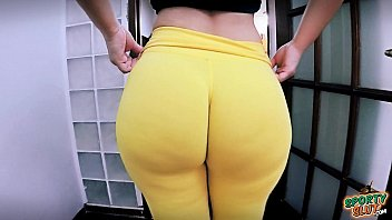 butt bicycle ride lycra huge big ass Hubby watch amateur wife take horse size black dick