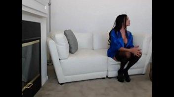 hangers webcam brunette nice Hot chick wild dildo show