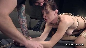 by and men is ass seeded fucked bi husband forced Man fondles his pretty girl
