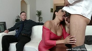 wife watch husbend raped forced Japanese wife forced fuck to pay husband debt
