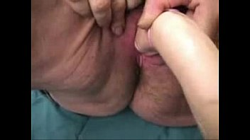 fisting perverse old granny Mistress tugce doing heeljob and heel insertion on a slave with cock trampling