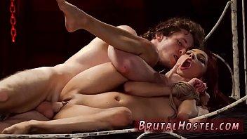 wrestling on strap mixed Slutty brits jim slip kitchen