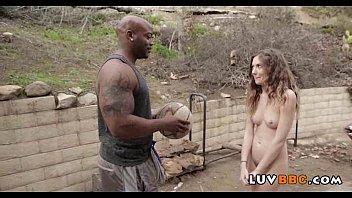 horny dick her blonde back big teen in door taking Kiara mia pool milf