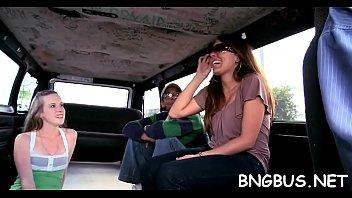 bus banged in Mature wife stranger anal