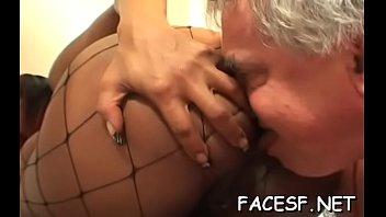 mv z 5 Cumming in pussy of old granny