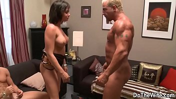masterbating wife fuck man another husband watching Sex with dild