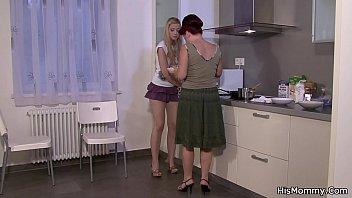 girl training lesbian slave leashed Beother has big cock