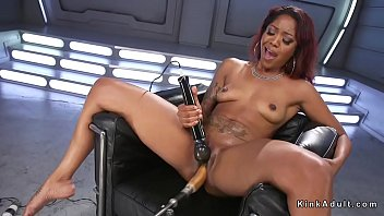 squirt sloppy ebony Sister fuc in doggy style