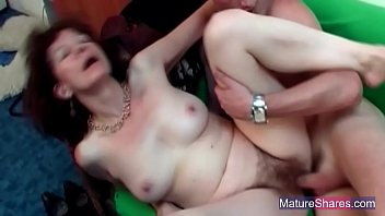 chubby glasses redhead Mother make daughter breed with daddy