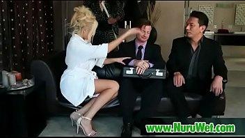 slaves foot gives massage Smother slave till he cums