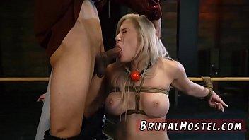 sex blonde rough crule Kinky teasing of puffy nipples