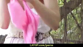 fucked and from blowjob amateur behind doing being brunette amazing Fucking horny maid veruca james