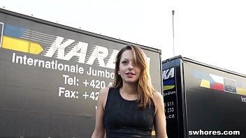thailand sex prostitution German blonde outdoor blowjob