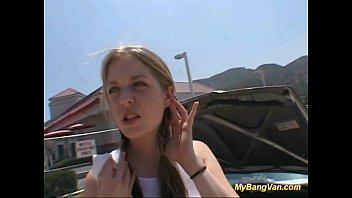 teen gangbang sperm Janice griffith suck in car