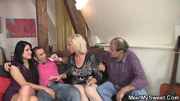 german couple trheesome old Christie stevens bukakke