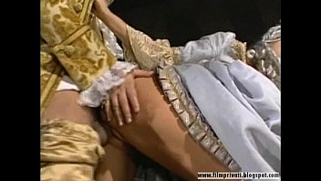 the gay vintage hole beyond classic Busty amazon gets doublestuffed by her fuck slaves