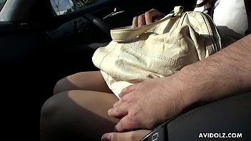 car two handjob in finger Clean daughter creampie
