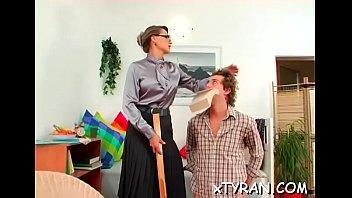 mistress slave punished Shaving my cocks