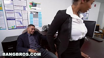 ebony boy busted forces young school Angela white x rocco reed