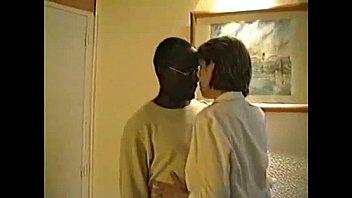 wife black with blonde stranger white Burglars raping woman