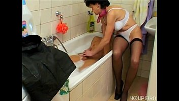 blowing him wife again Asians stuck in wall